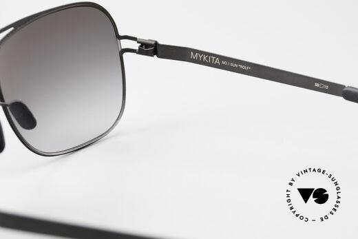 Mykita Rolf Brad Pitt Mykita Sonnenbrille, ebenso von Prad Pitt, Jason Statham und Pierce Brosnan, Passend für Herren und Damen