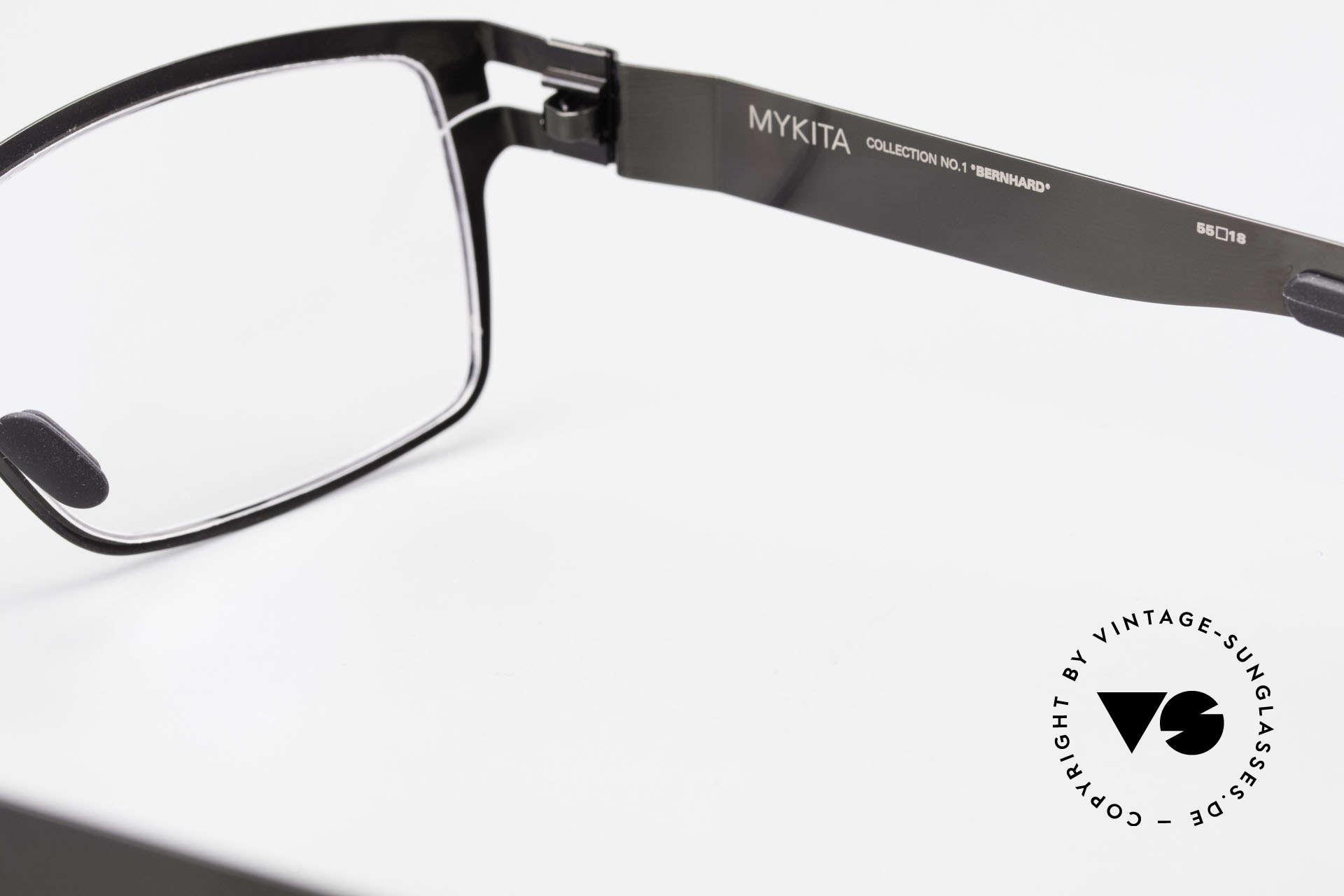 Mykita Bernhard Vintage Mykita Brille von 2009, daher jetzt bei uns (natürlich ungetragen und mit Etui), Passend für Herren
