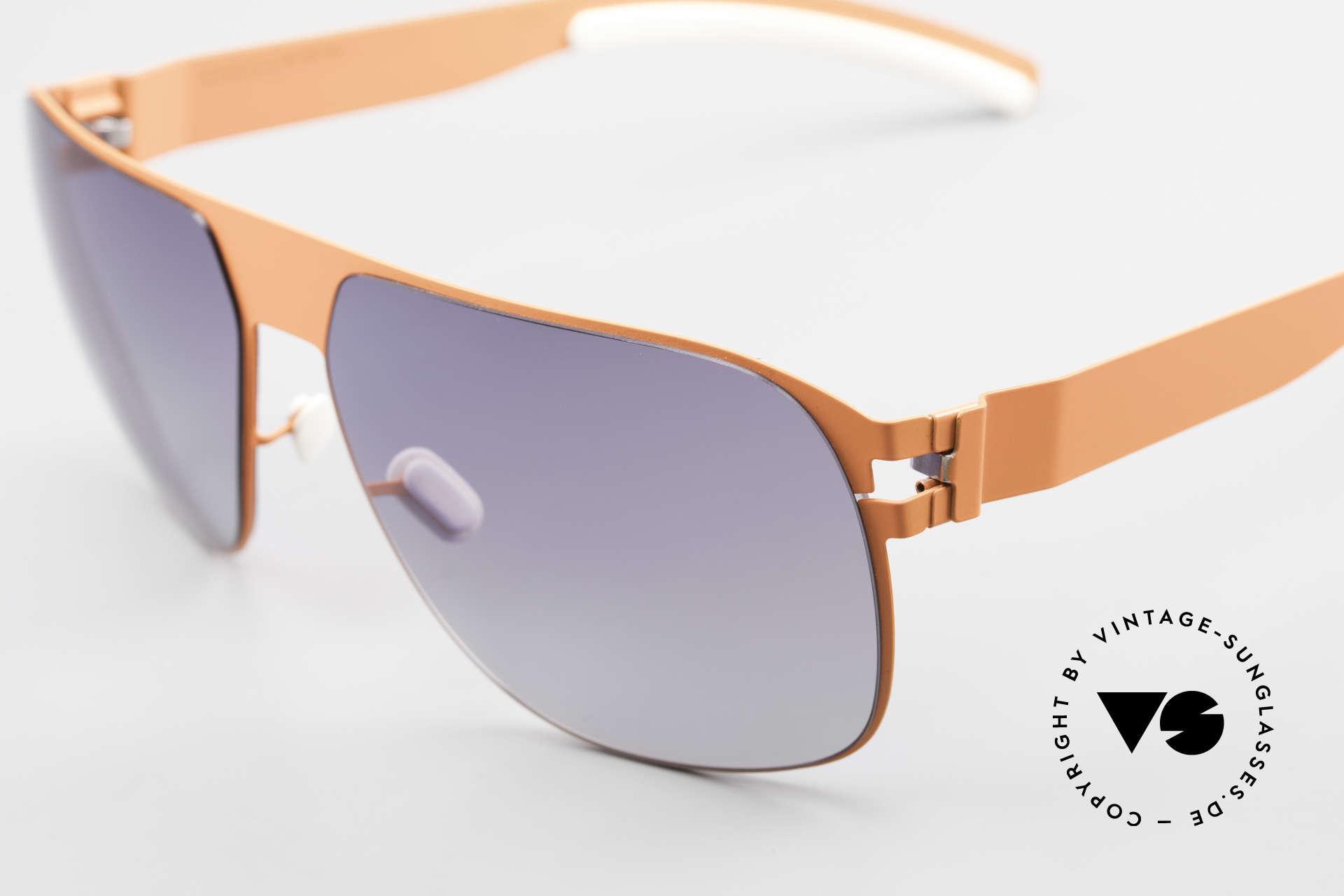 Mykita Tim Collection No 1 Sonnenbrille, getragen von zahlreichen Promis und inzwischen selten, Passend für Herren