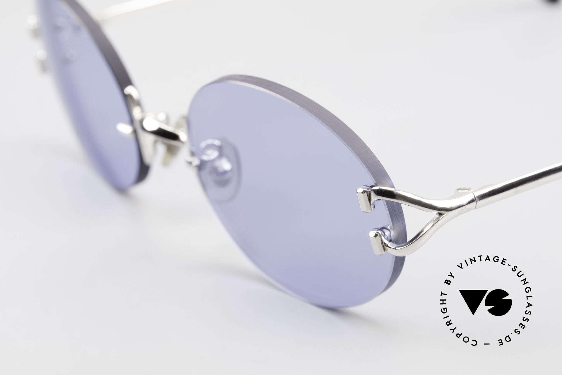 Cartier Rimless Giverny Ovale Randlose Luxusbrille, ein teures ORIGINAL in scheinbar zeitlosem Design, Passend für Herren und Damen