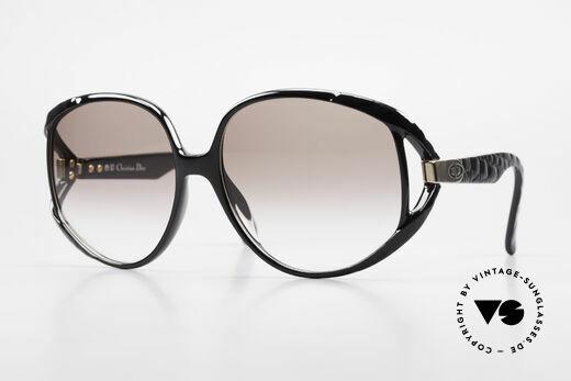 Christian Dior 2320 80er Damen XL Sonnenbrille Details