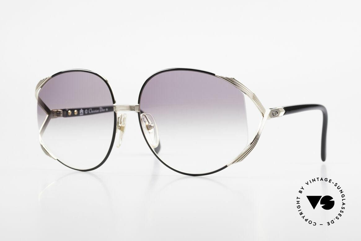 Christian Dior 2250 XL Sonnenbrille 80er Damen, übergroße XL vintage Damen-Sonnenbrille von C. Dior, Passend für Damen
