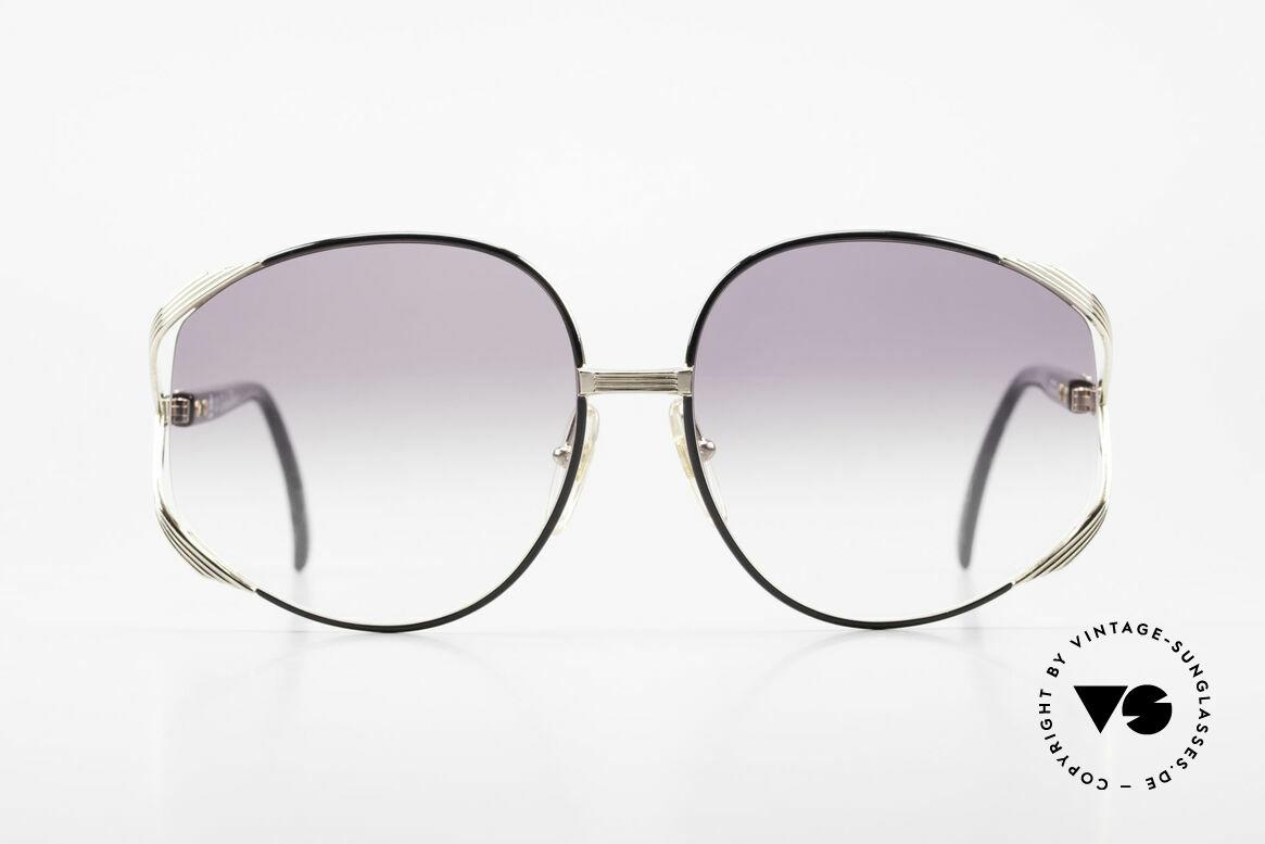 Christian Dior 2250 XL Sonnenbrille 80er Damen, sehr feminines, elegantes Design mit riesigen Gläsern, Passend für Damen