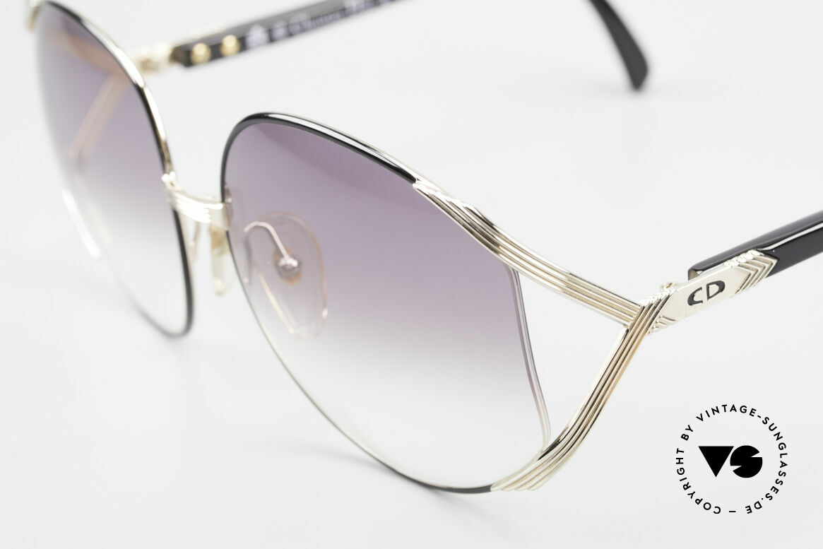 """Christian Dior 2250 XL Sonnenbrille 80er Damen, getragen v. Amy Adams (Film """"American Hustle"""" 2013), Passend für Damen"""