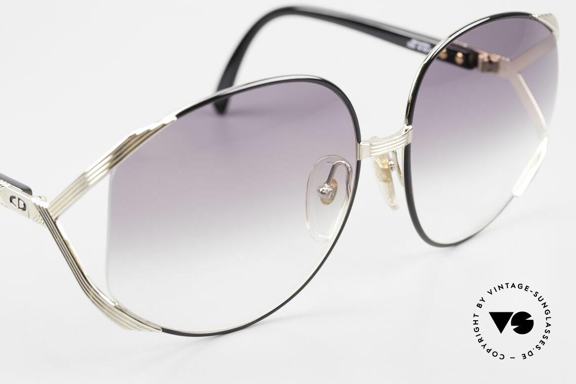 Christian Dior 2250 XL Sonnenbrille 80er Damen, sowie von Rihanna auf dem Cover der 'Man Down' Single, Passend für Damen