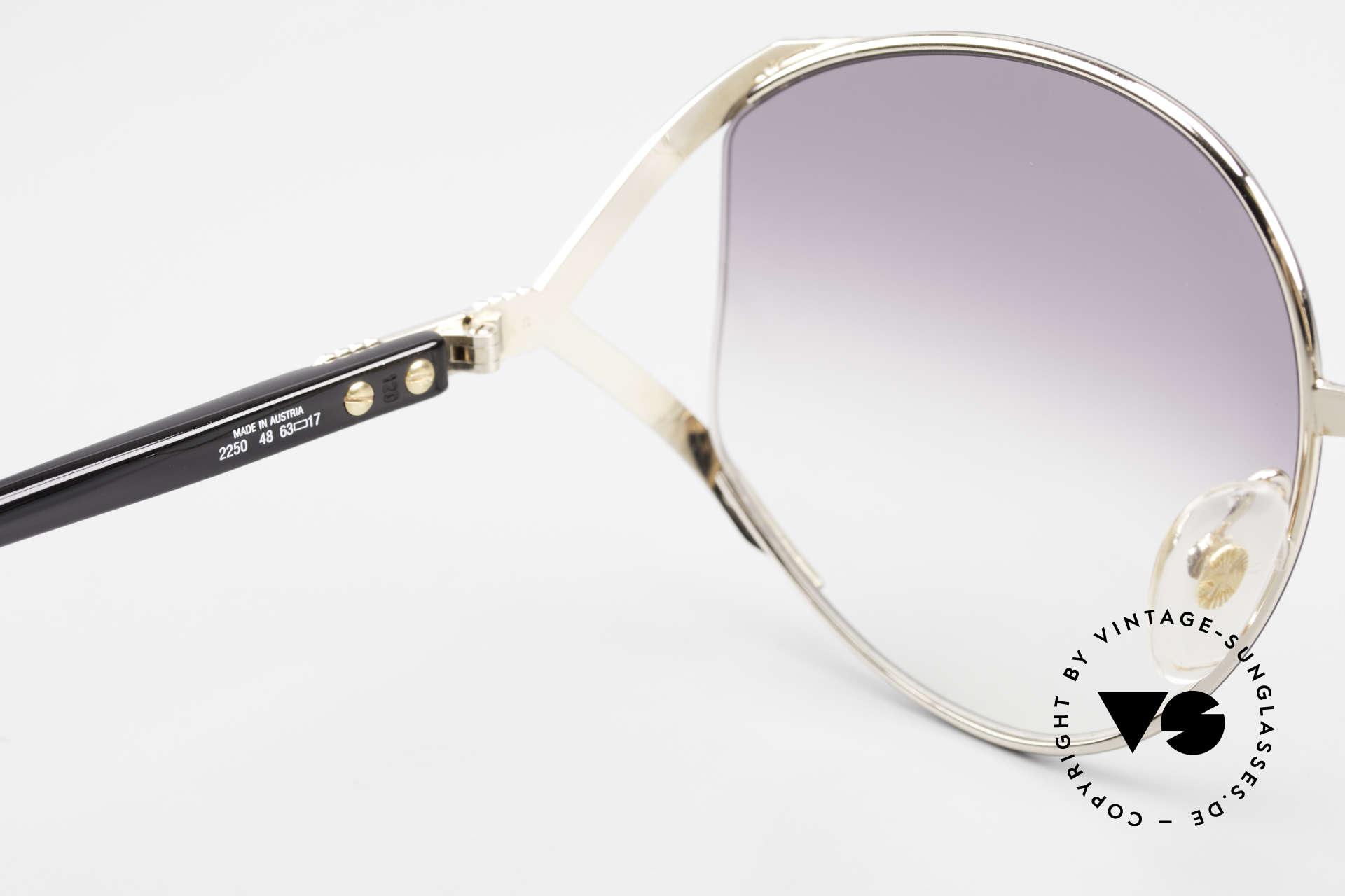 Christian Dior 2250 XL Sonnenbrille 80er Damen, KEINE RETRObrille; sondern ein ungetragenes Original!, Passend für Damen