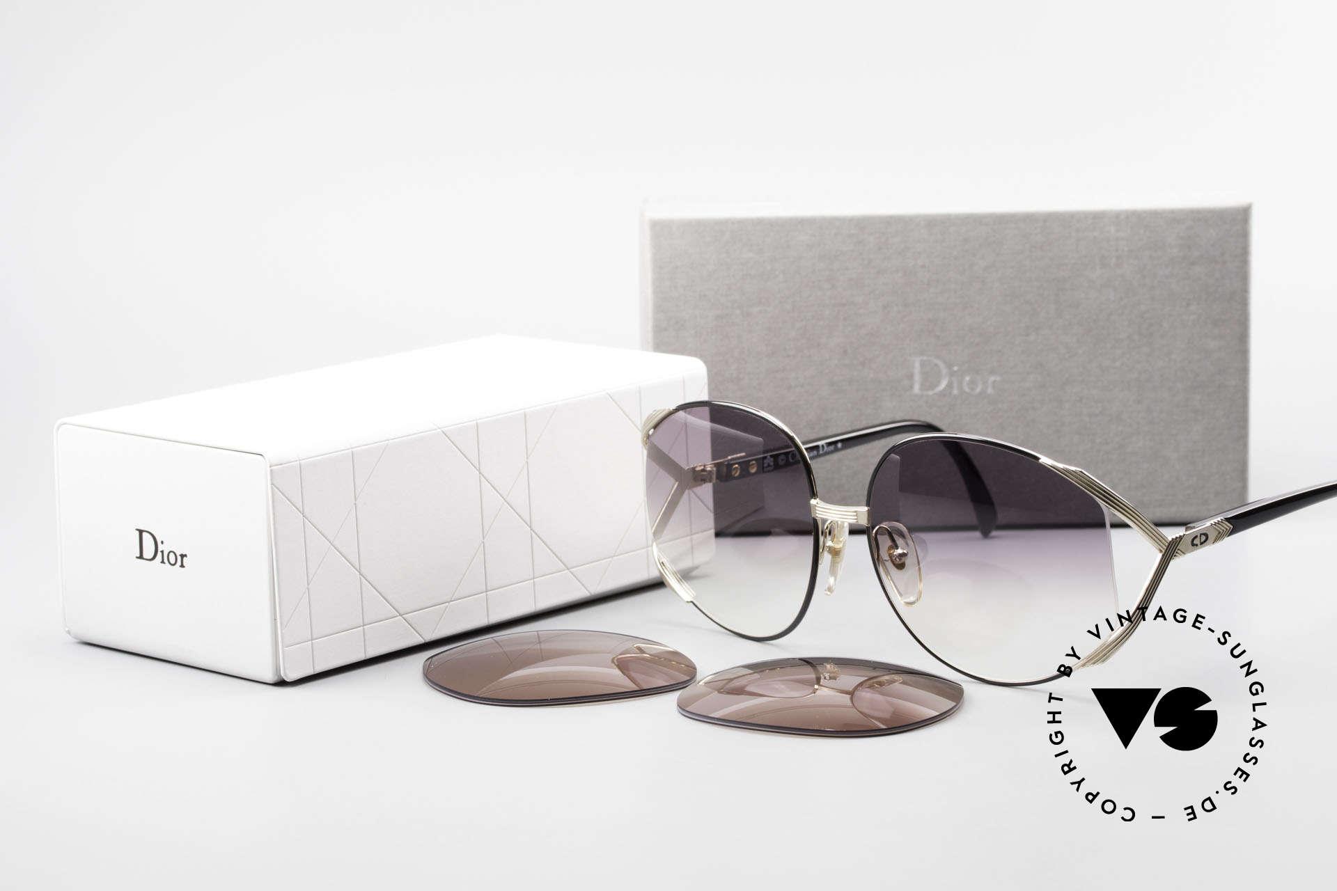 Christian Dior 2250 XL Sonnenbrille 80er Damen, Größe: large, Passend für Damen