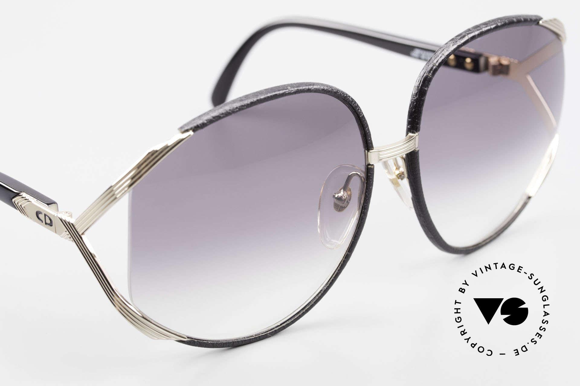 """Christian Dior 2250 Rihanna Sonnenbrille Leder, sowie auf dem Titelbild der Zeitschrift """"Interview Mag"""", Passend für Damen"""