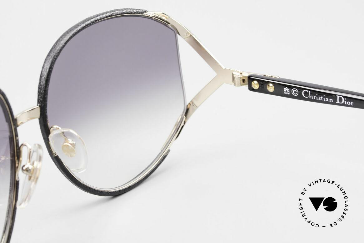 Christian Dior 2250 Rihanna Sonnenbrille Leder, Größe: large, Passend für Damen