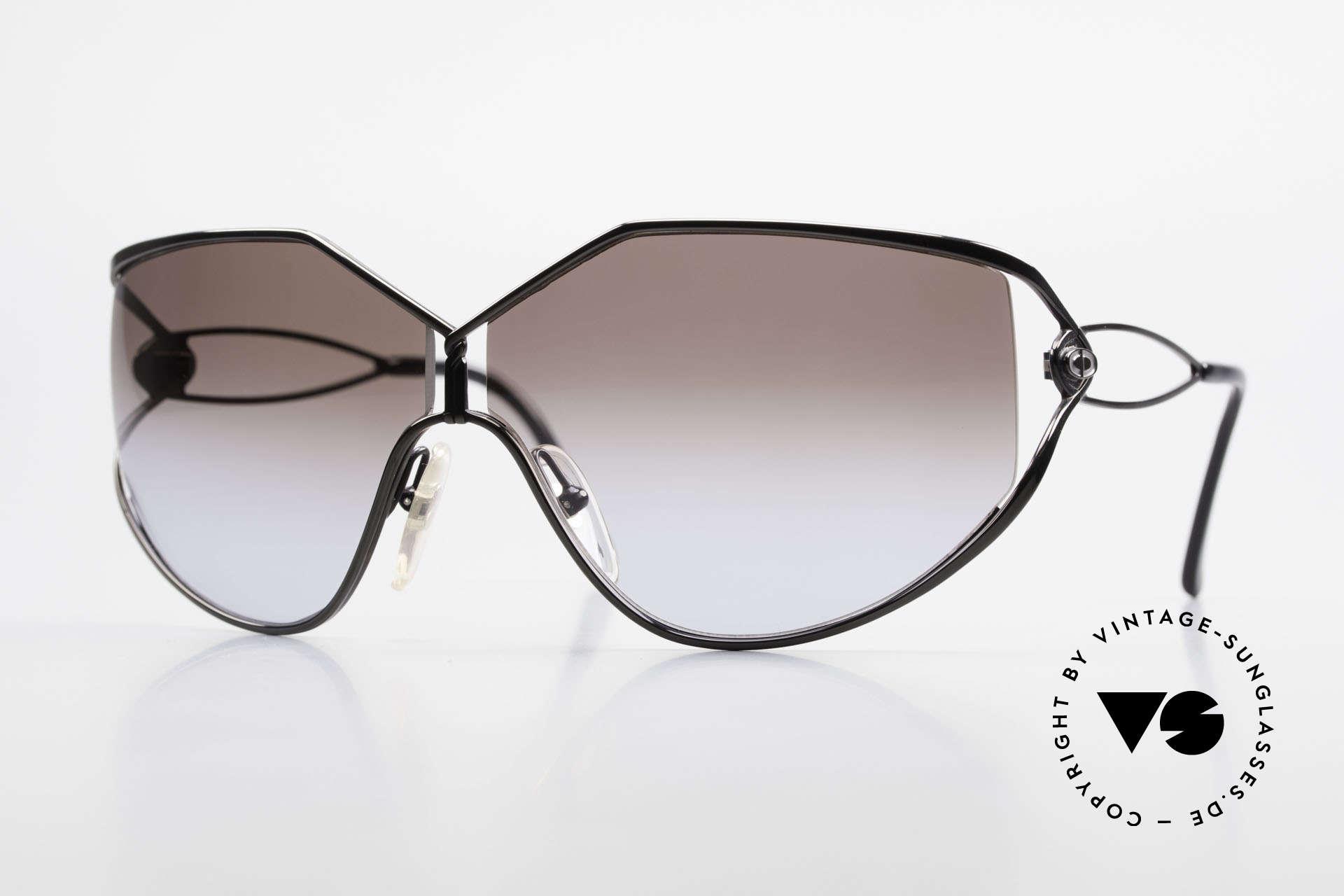 Christian Dior 2345 Damen Designersonnenbrille, vintage Oversize Sonnenbrille von Christian Dior, Passend für Damen