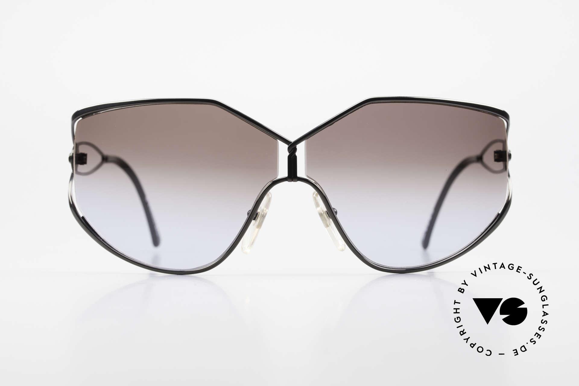 Christian Dior 2345 Damen Designersonnenbrille, klassisch, weibliches Design mit großen Gläsern, Passend für Damen