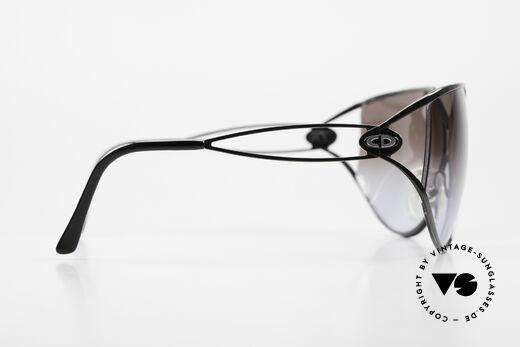 Christian Dior 2345 Damen Designersonnenbrille, Sonnengläser in grau-Verlauf; 100% UV Protection, Passend für Damen