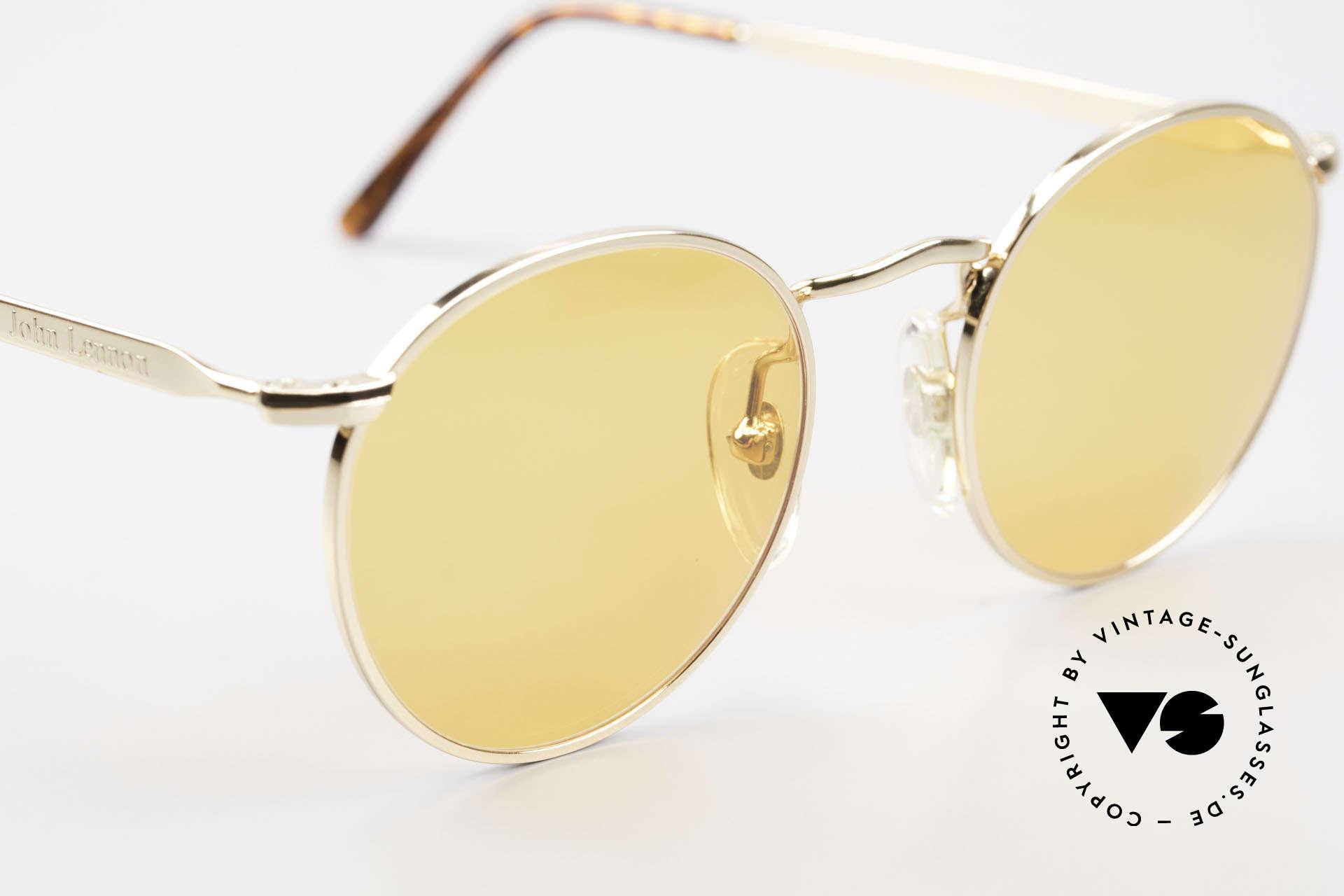 John Lennon - The Dreamer Sehr Kleine Runde Sonnenbrille, KEINE RetroSonnenbrille, sondern ein altes Original, Passend für Herren und Damen