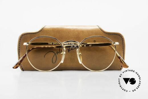 """John Lennon - The Dreamer Sehr Kleine Runde Sonnenbrille, ungetragen (wie alle unsere """"Hippie-Sonnenbrillen""""), Passend für Herren und Damen"""