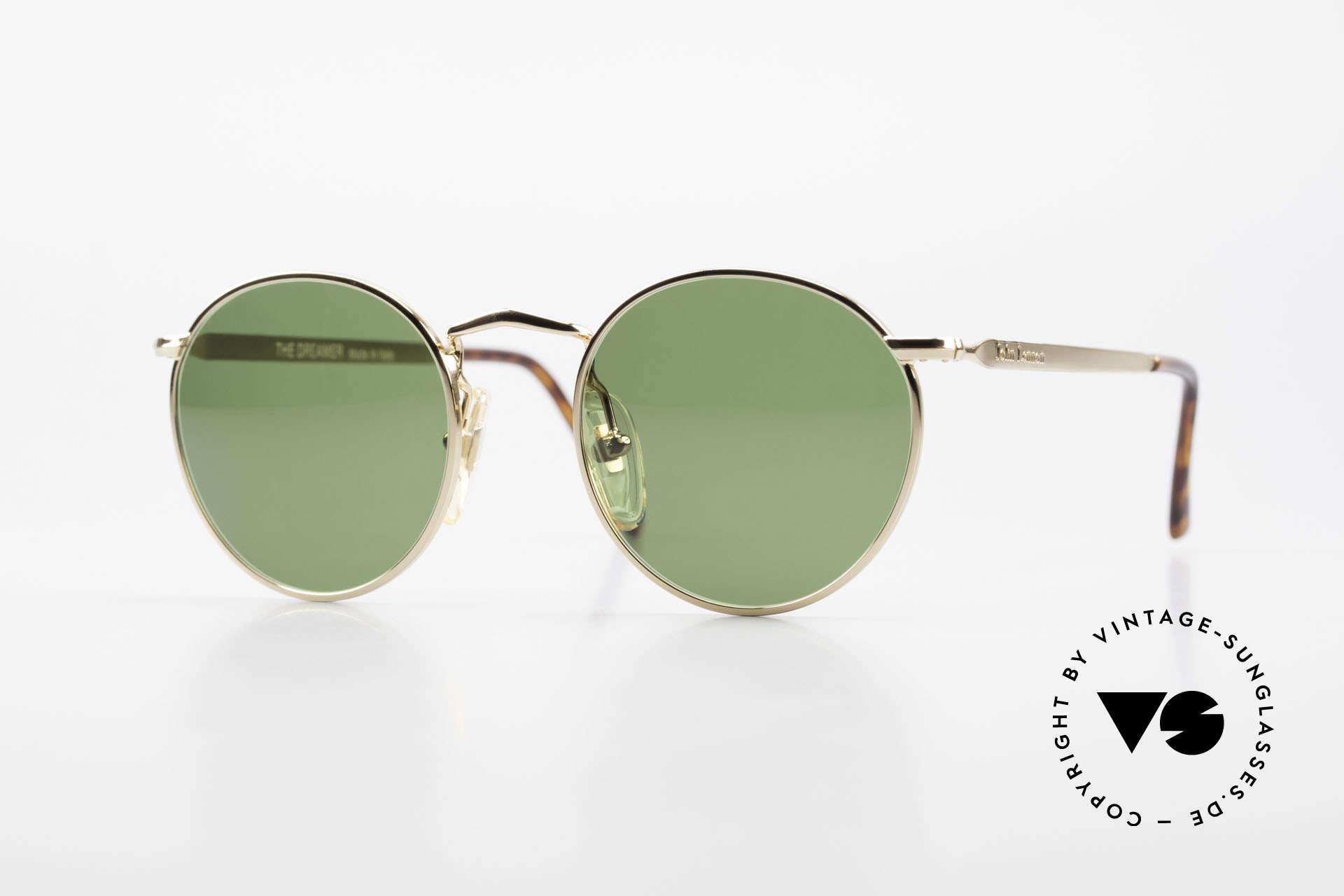 John Lennon - The Dreamer Original JL Collection Brille, vintage Brille der original 'John Lennon Collection', Passend für Herren und Damen