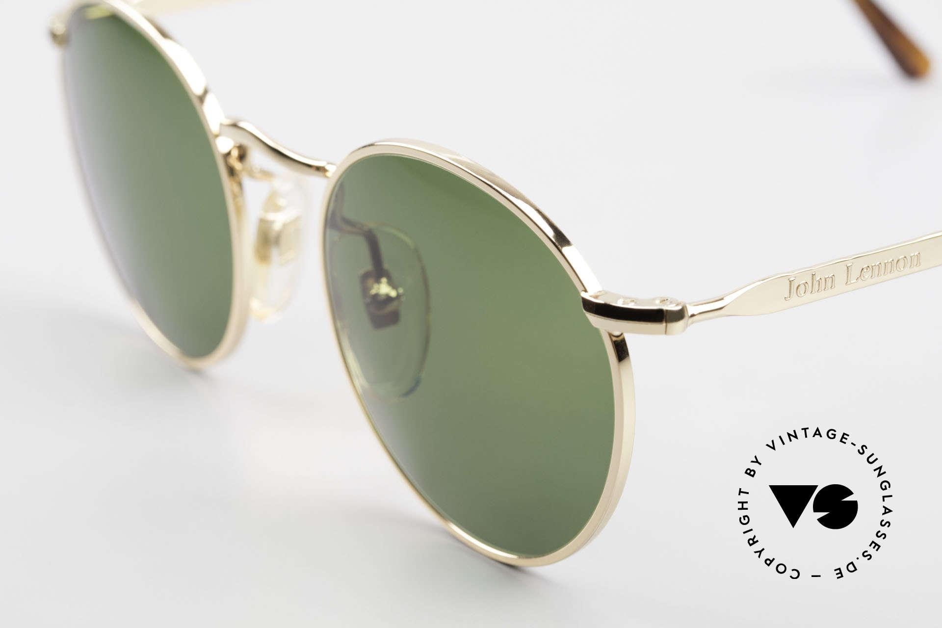 John Lennon - The Dreamer Original JL Collection Brille, grasgrüne Sonnengläser (für 100% UV Protection), Passend für Herren und Damen