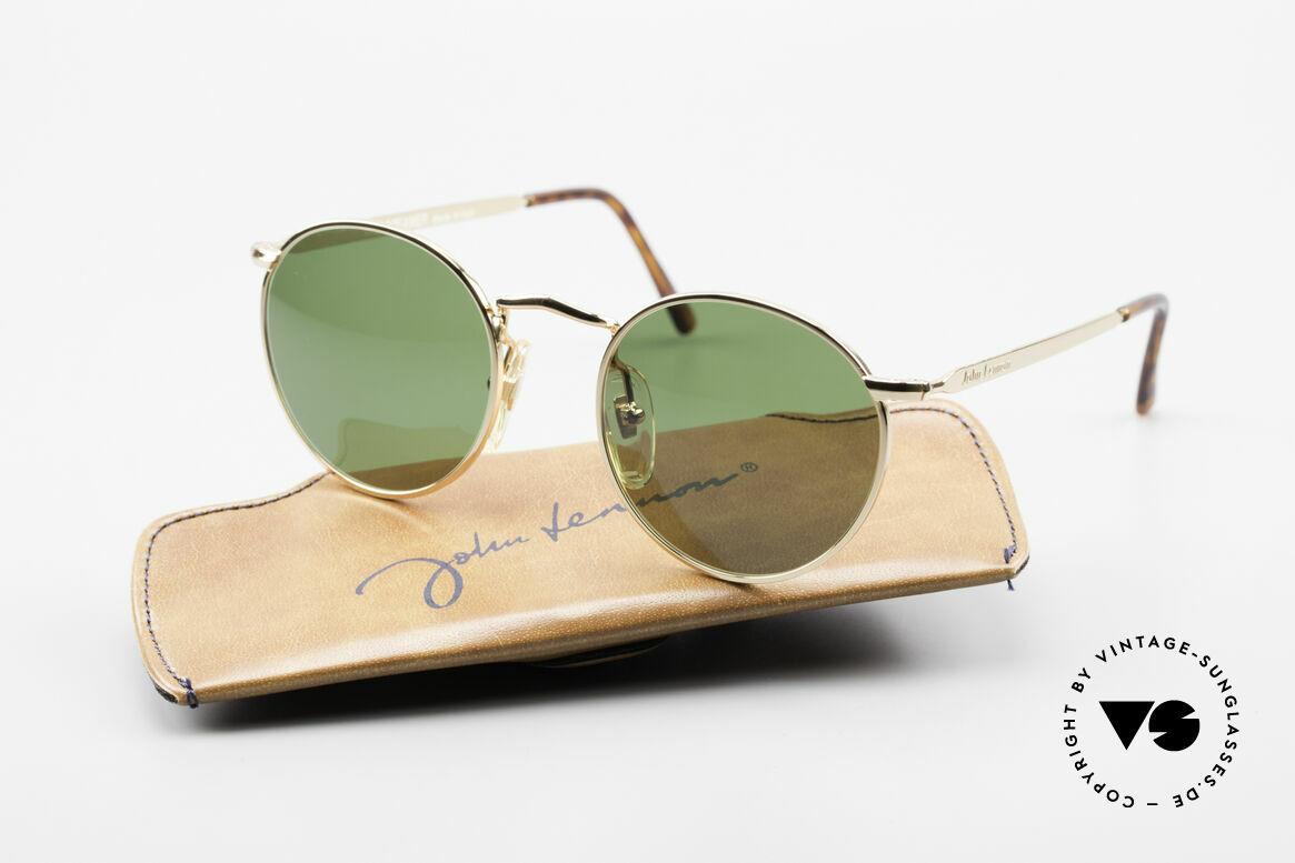 John Lennon - The Dreamer Original JL Collection Brille, 118mm Breite = EINE SEHR KLEINE Fassung; 47mm, Passend für Herren und Damen