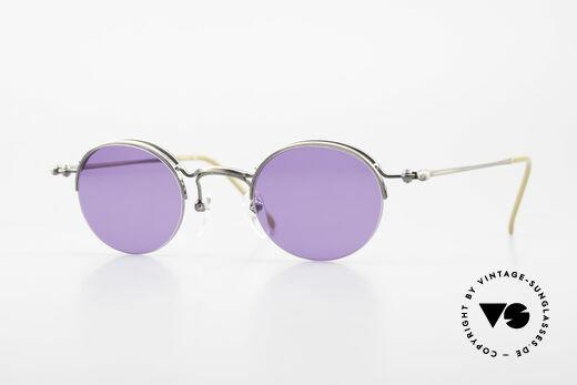 Jean Paul Gaultier 55-7108 Kleine Panto Sonnenbrille 90er Details