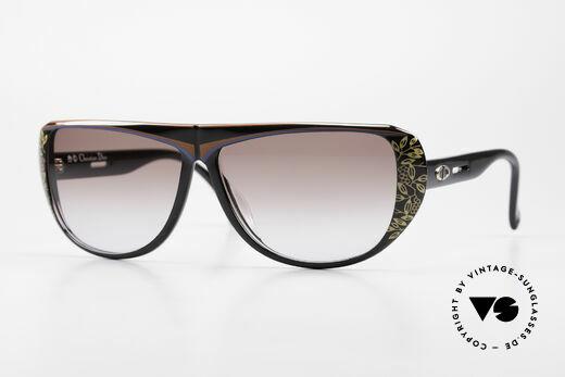 Christian Dior 2421 Damen Sonnenbrille Optyl 80er Details