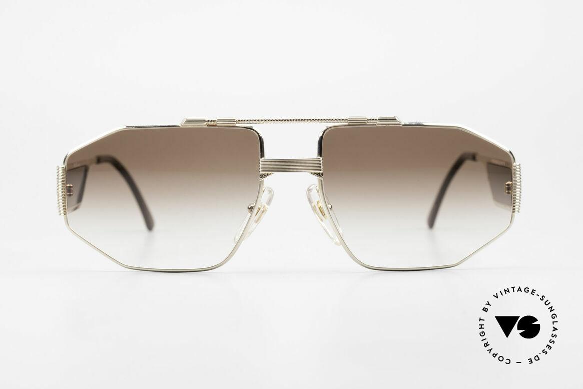Christian Dior 2427 80er Monsieur Sonnenbrille, außergewöhnliches Bügeldesign - sehr markant!, Passend für Herren