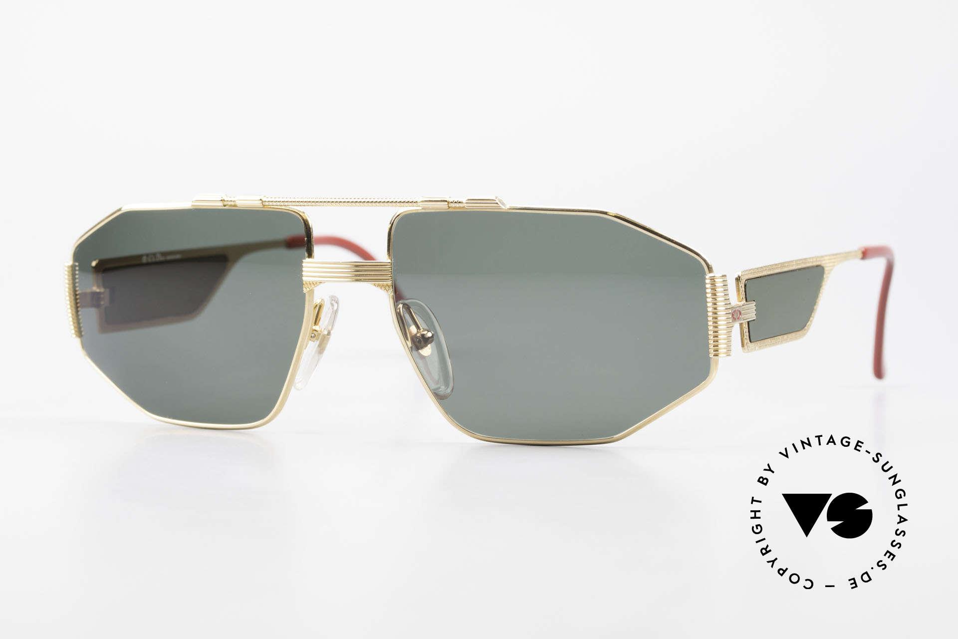 Christian Dior 2427 Monsieur Sonnenbrille 80er, vintage Brille der Dior Monsieur Serie von 1988, Passend für Herren