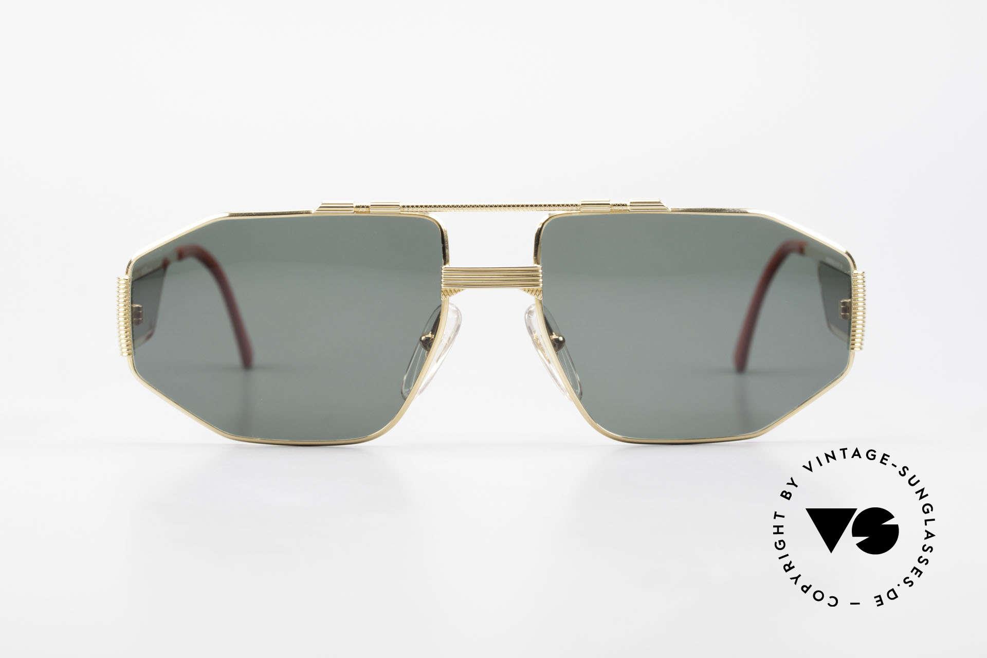 Christian Dior 2427 Monsieur Sonnenbrille 80er, außergewöhnliches Bügeldesign - sehr markant!, Passend für Herren