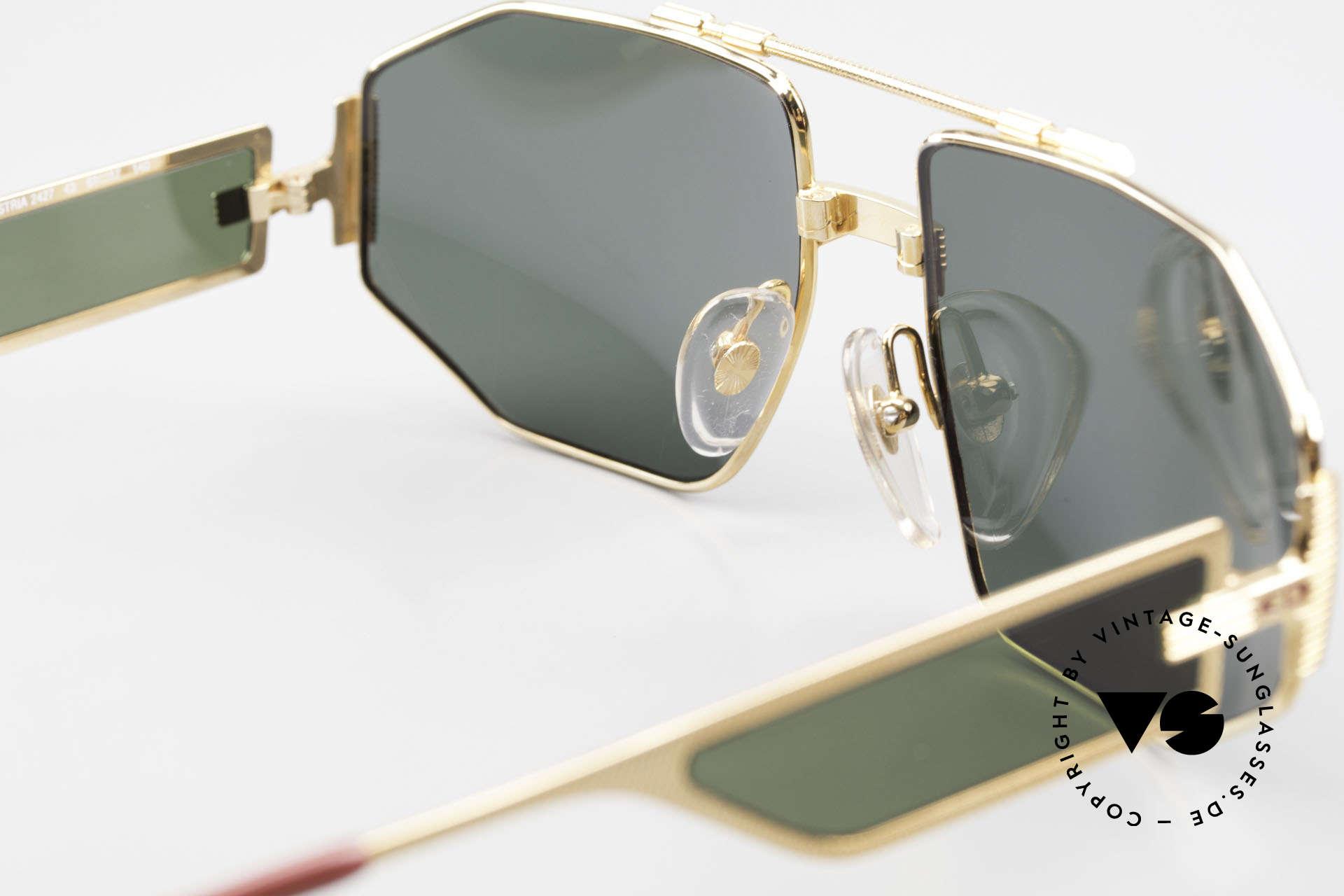 Christian Dior 2427 Monsieur Sonnenbrille 80er, Größe: large, Passend für Herren