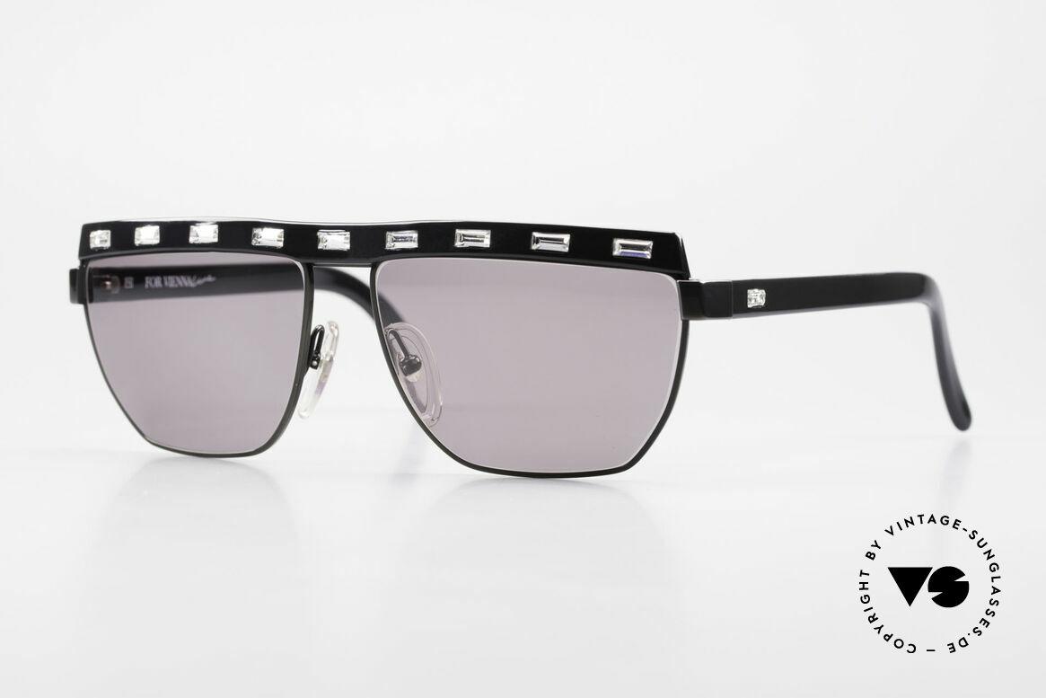 Paloma Picasso 3706 Damen Sonnenbrille Kristall, Damen Designersonnenbrille von Paloma Picasso, Passend für Damen