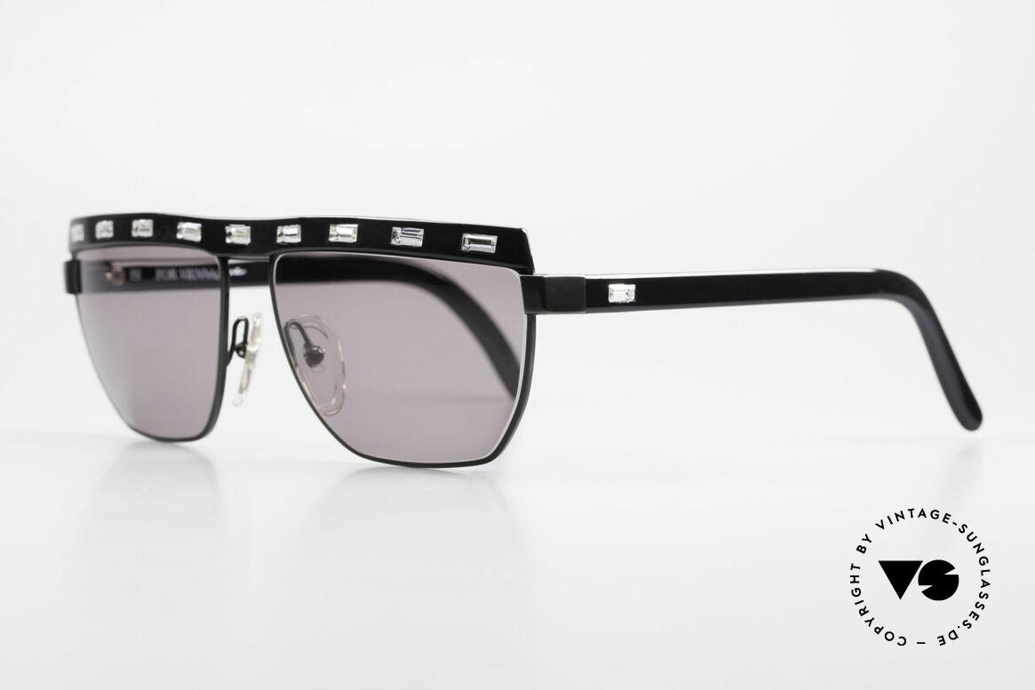 Paloma Picasso 3706 Damen Sonnenbrille Kristall, sie entwarf 1990 diese großartige Brillenkollektion, Passend für Damen