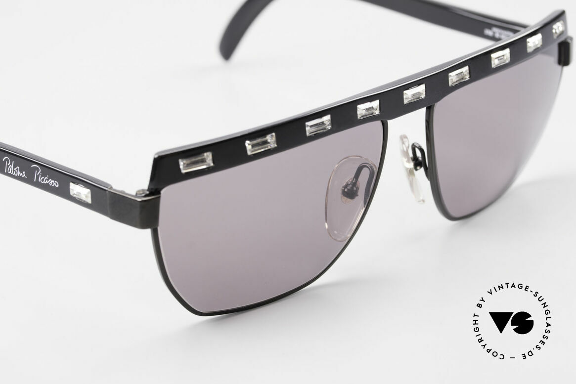 Paloma Picasso 3706 Damen Sonnenbrille Kristall, zudem ist das Brillen-Etui als Geldbörse nutzbar!, Passend für Damen