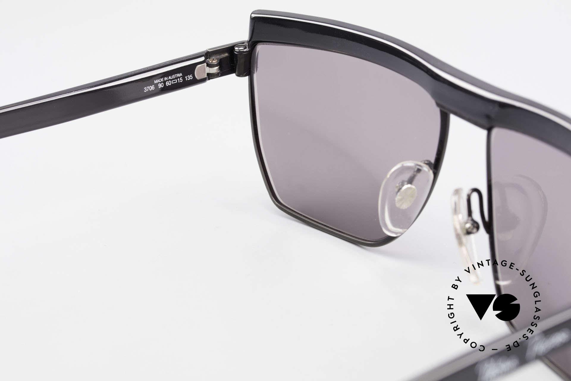 Paloma Picasso 3706 Damen Sonnenbrille Kristall, ungetragen (wie alle unsere vintage Sonnenbrillen), Passend für Damen