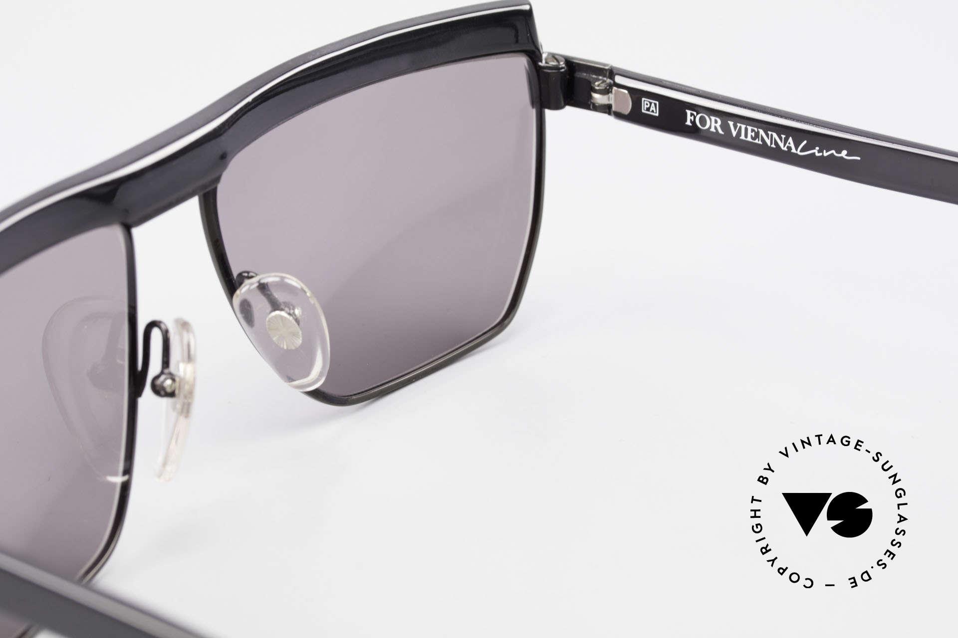 Paloma Picasso 3706 Damen Sonnenbrille Kristall, KEINE Retrosonnenbrille; eine 30 Jahre alte Rarität, Passend für Damen