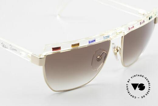Paloma Picasso 3706 Farben Sämtlicher Edelsteine, zudem ist das Brillen-Etui als Geldbörse nutzbar!, Passend für Damen