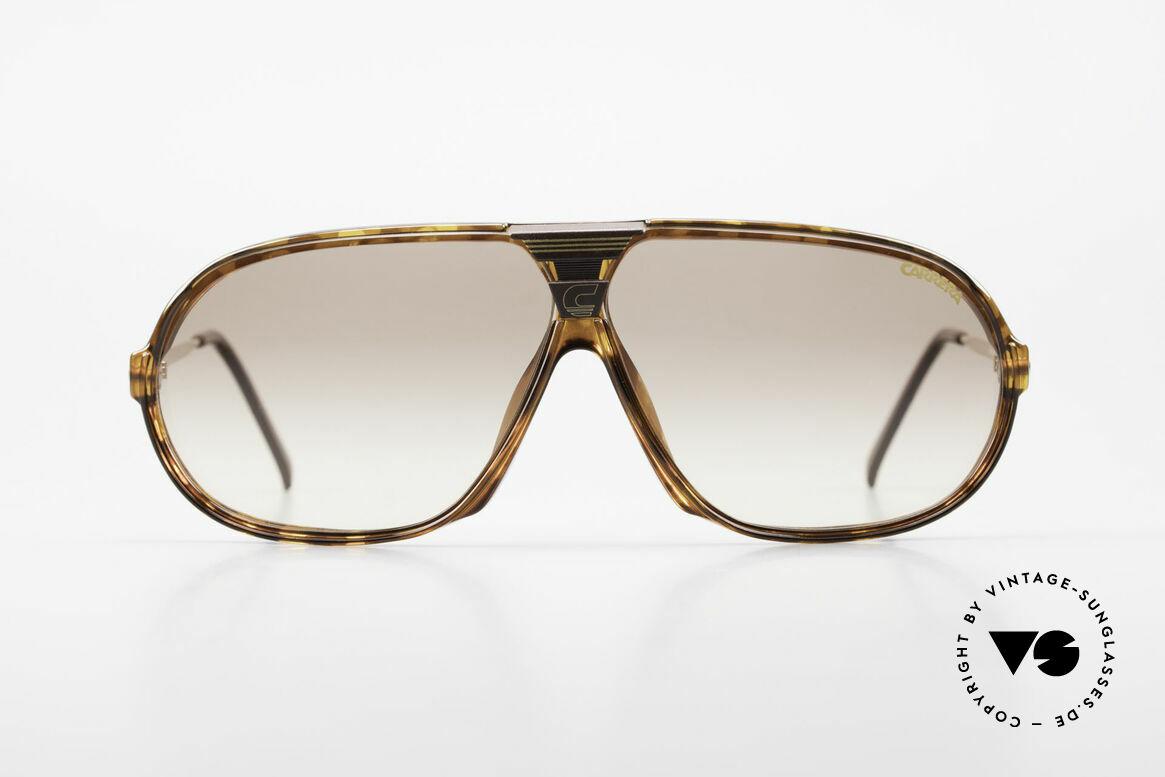 Carrera 5416 80er Brille Mit Wechselgläsern, ultraleichter Rahmen aus genialem Optyl-Material, Passend für Herren