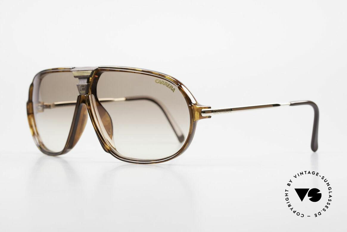 Carrera 5416 80er Brille Mit Wechselgläsern, mit Carrera Wechselgläsern & original Carrera Etui, Passend für Herren