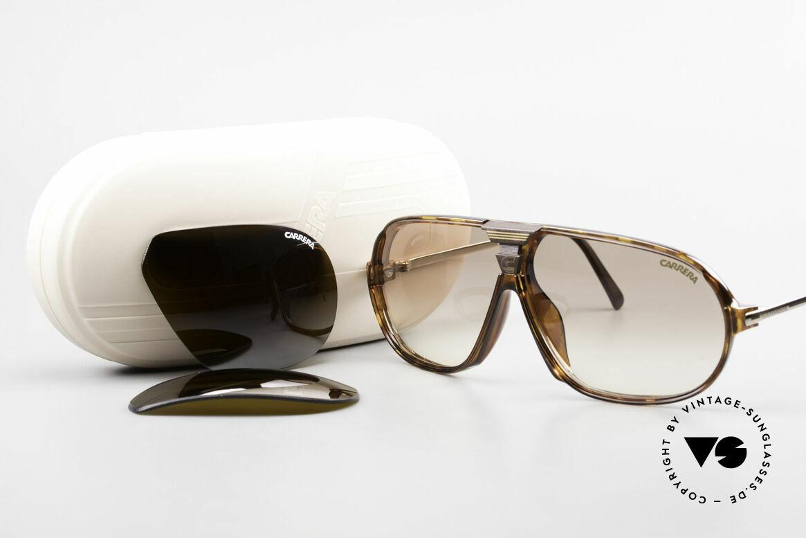 Carrera 5416 80er Brille Mit Wechselgläsern, KEINE Retrosonnenbrille, 100% vintage ORIGINAL, Passend für Herren