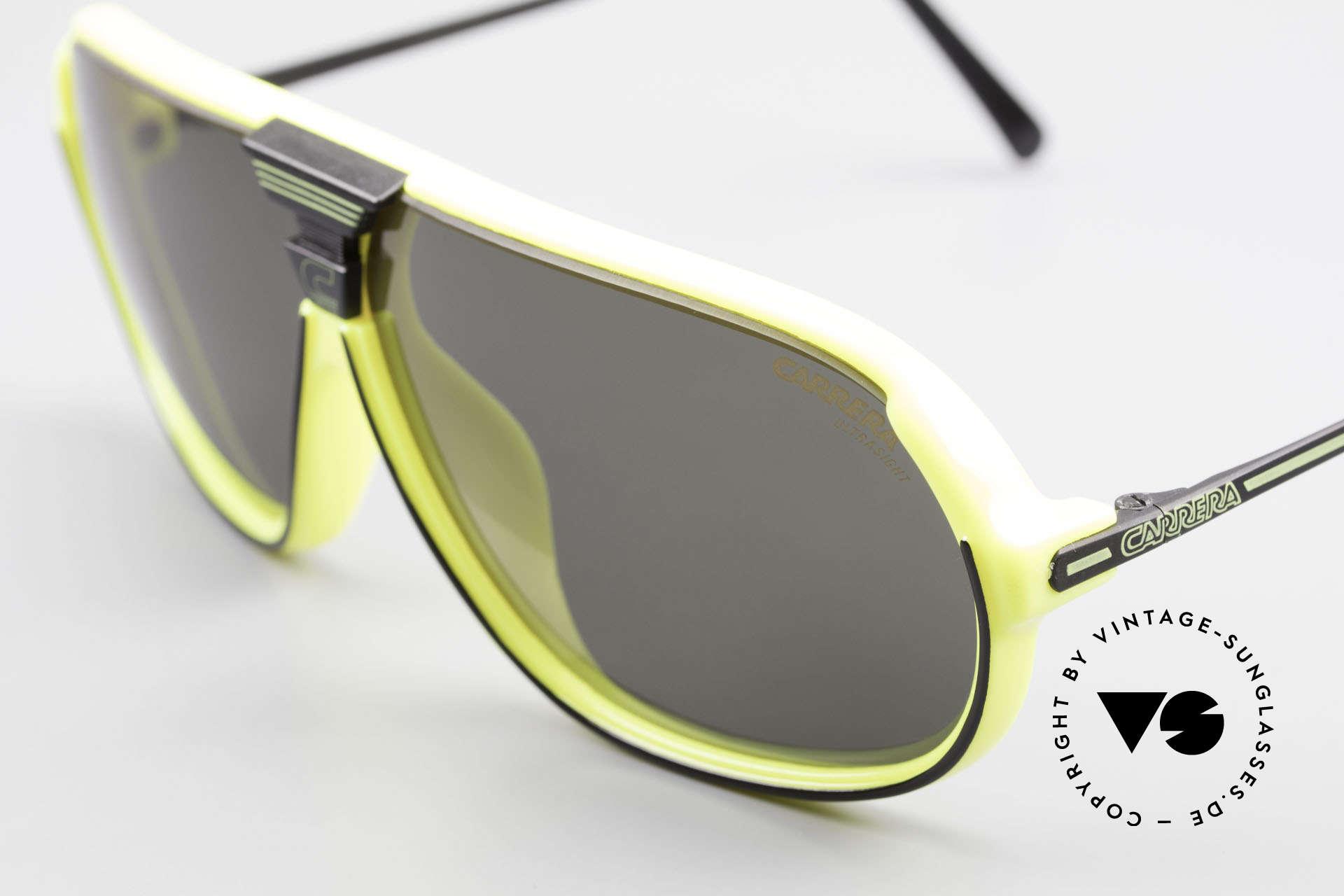Carrera 5416 80's Sonnenbrille Polarisierend, eine Symbiose aus Sport und modischem Lifestyle!, Passend für Herren