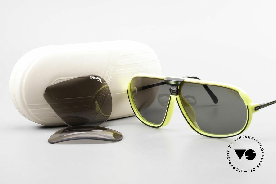 Carrera 5416 80's Sonnenbrille Polarisierend, Größe: large, Passend für Herren
