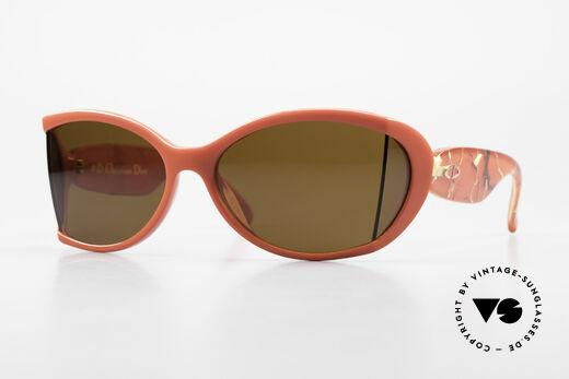 Christian Dior 2439 80s Sonnenbrille Seitenblenden Details