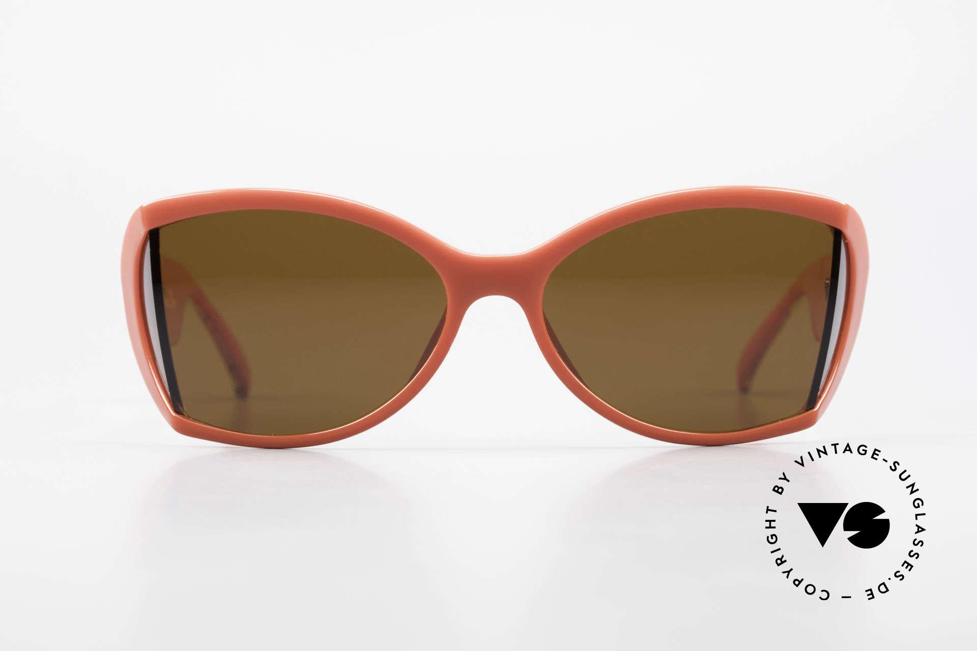Christian Dior 2439 80s Sonnenbrille Seitenblenden, zauberhafte Farben und Muster dank Optyl-Material, Passend für Damen