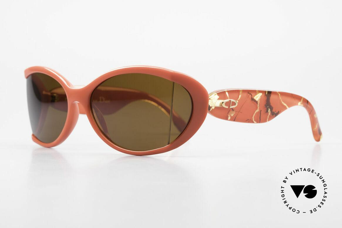 Christian Dior 2439 80s Sonnenbrille Seitenblenden, der Optyl-Kunststoff scheint einfach nicht zu altern, Passend für Damen
