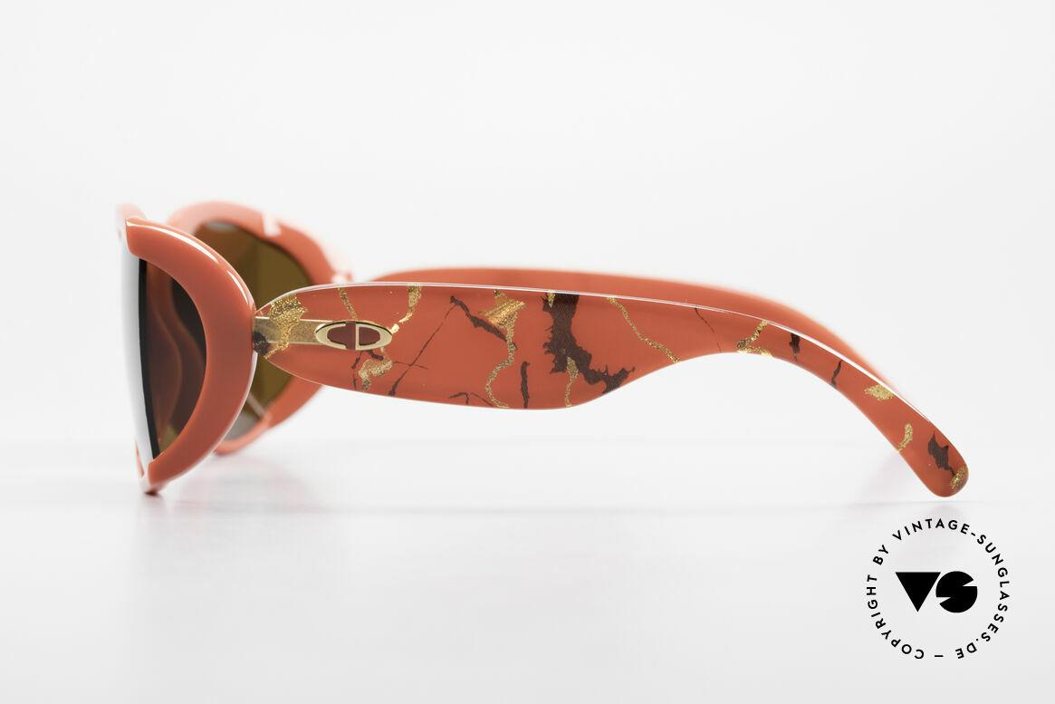 Christian Dior 2439 80s Sonnenbrille Seitenblenden, grandiose Designer-Sonnenbrille und echte Rarität!, Passend für Damen
