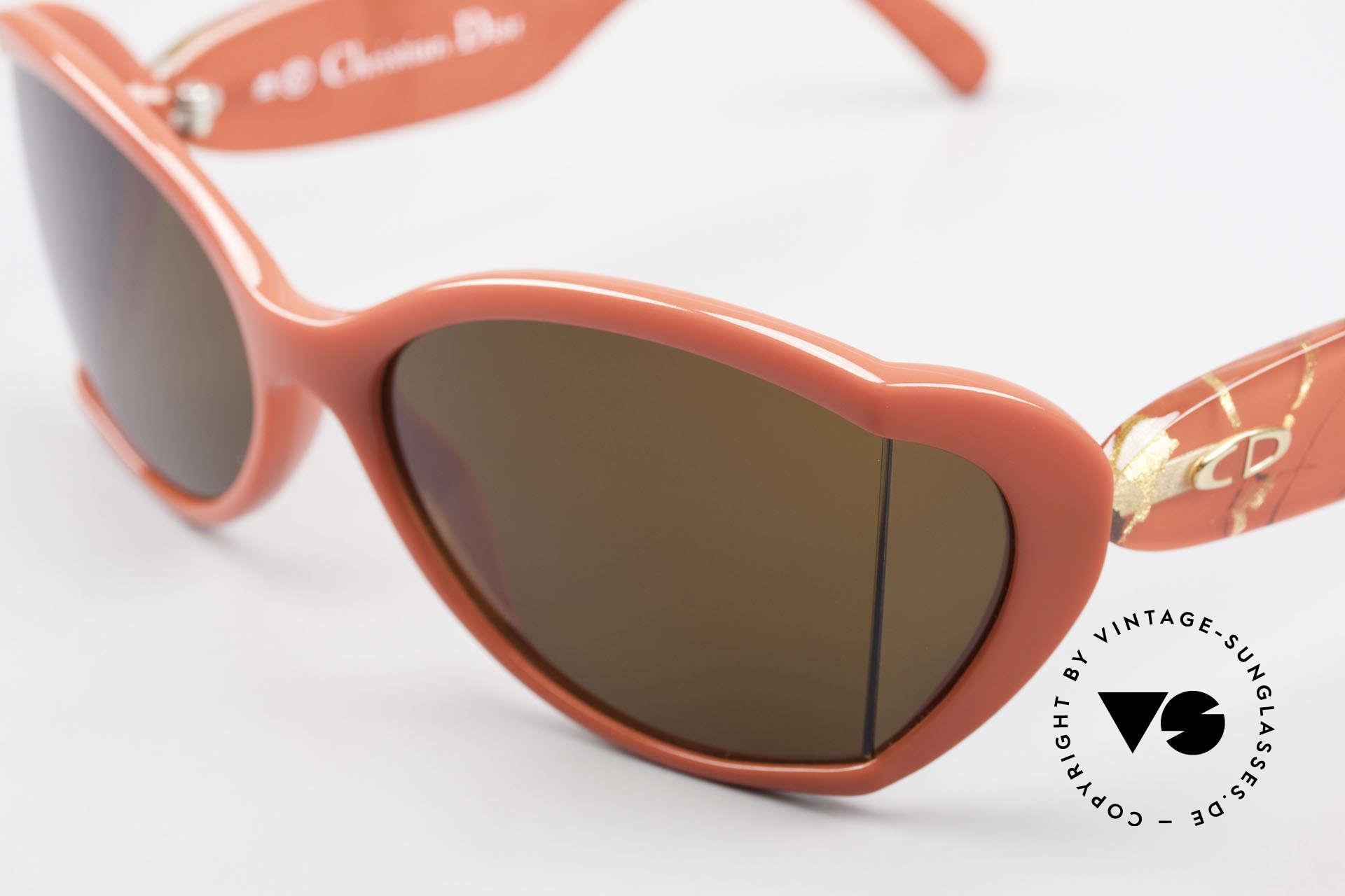 Christian Dior 2439 80s Sonnenbrille Seitenblenden, ungetragen (wie alle unsere seltenen C. Dior Brillen), Passend für Damen