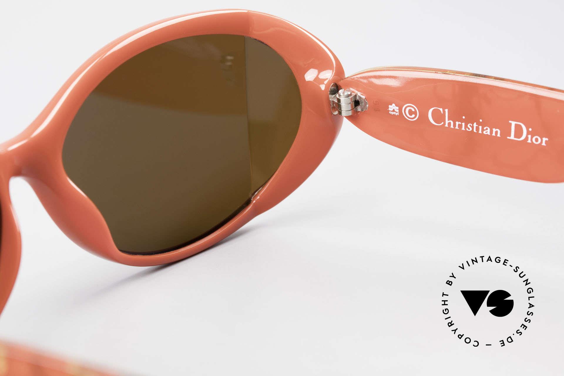 Christian Dior 2439 80s Sonnenbrille Seitenblenden, Größe: medium, Passend für Damen