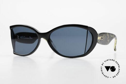 Christian Dior 2439 Rare 80er Brille Seitenscheiben Details