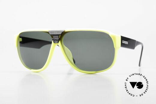 Carrera 5431 80er Sportsonnenbrille Alpin Details