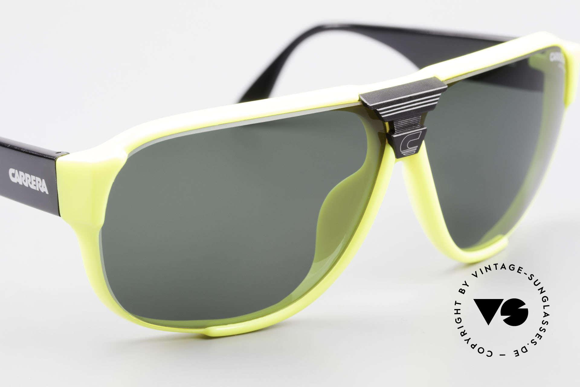 Carrera 5431 80er Sportsonnenbrille Alpin, ungetragen (wie alle unsere 80er CARRERA Brillen), Passend für Herren