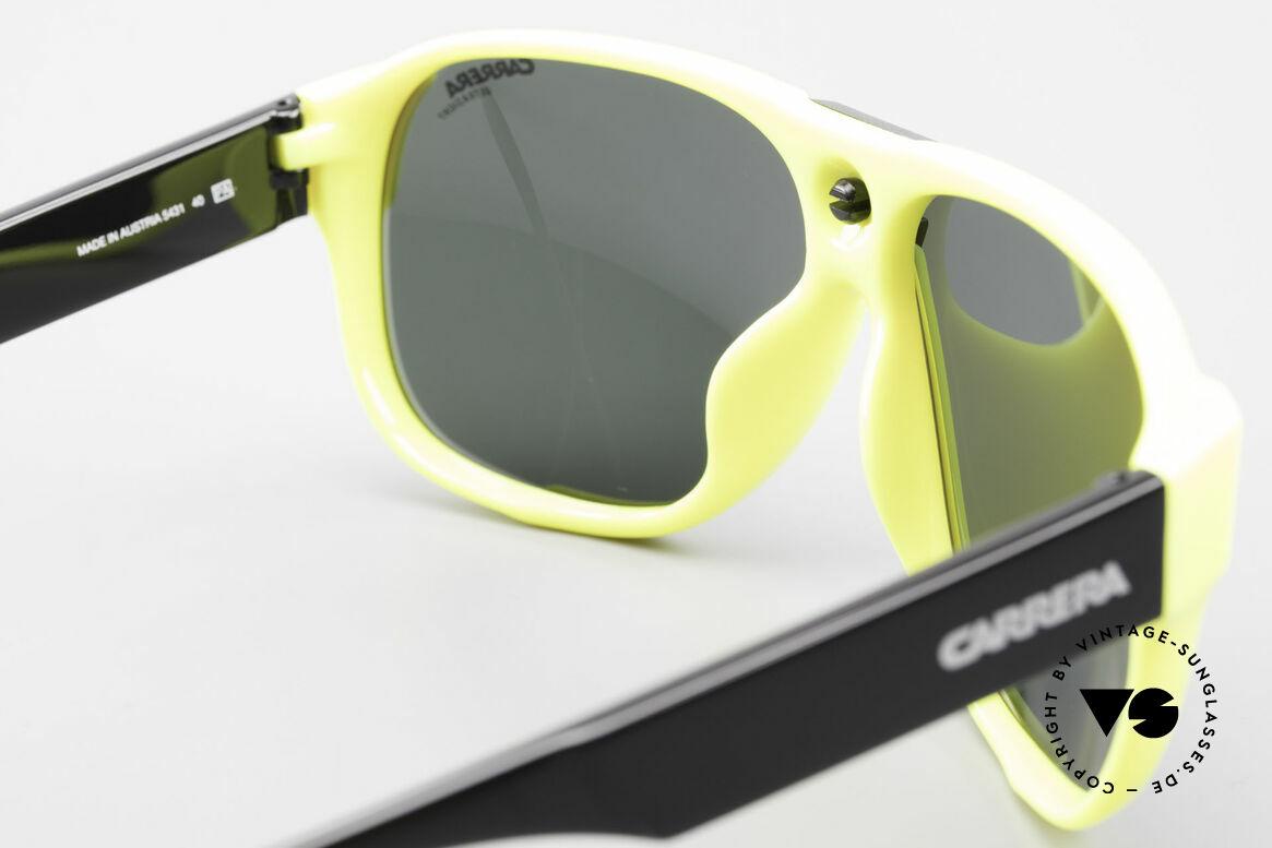 Carrera 5431 80er Sportsonnenbrille Alpin, KEINE Retrosonnenbrille, 100% vintage ORIGINAL, Passend für Herren