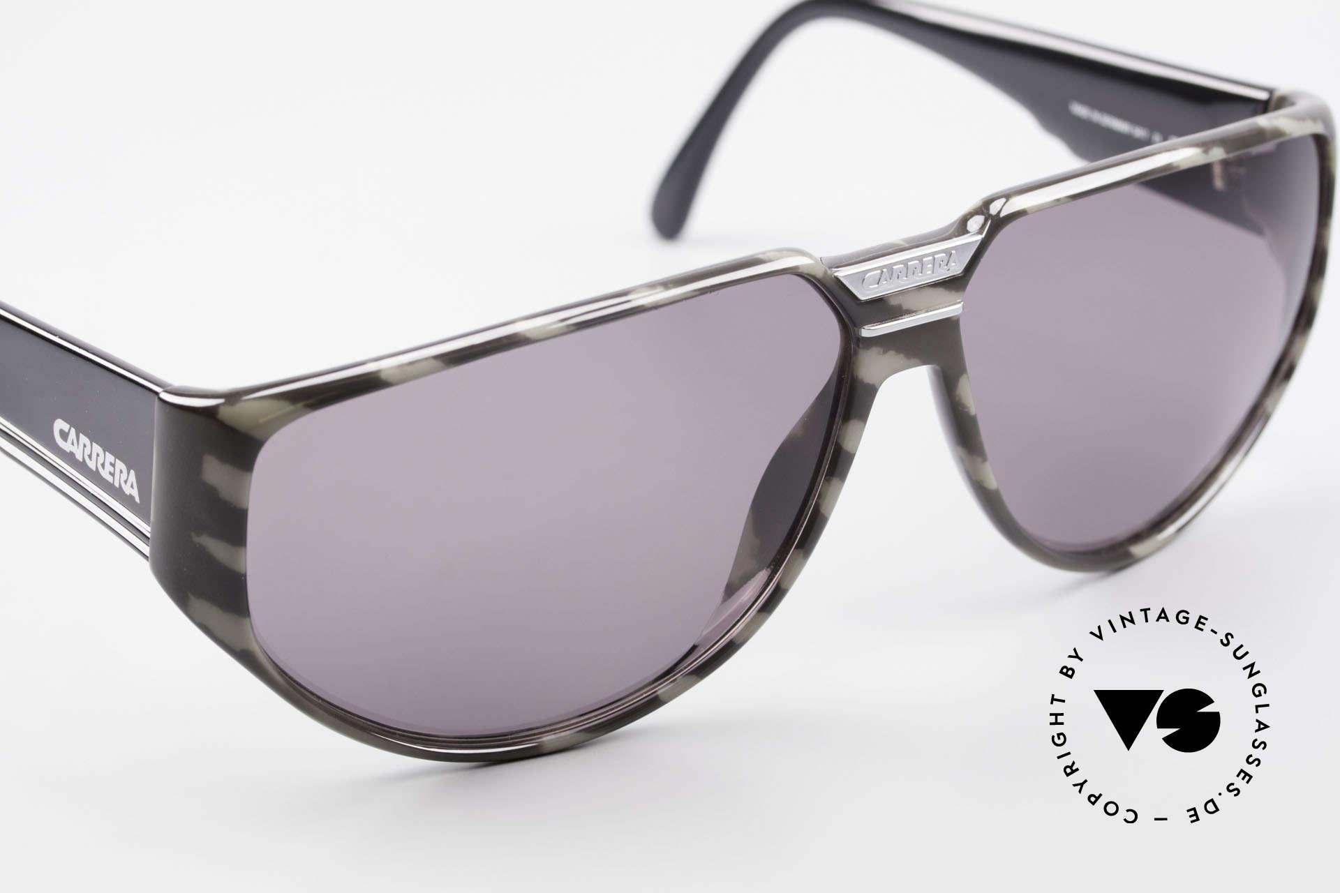 Carrera 5417 Camouflage Sportsonnenbrille, 30 Jahre altes Unikat glänzt wie soeben produziert, Passend für Herren