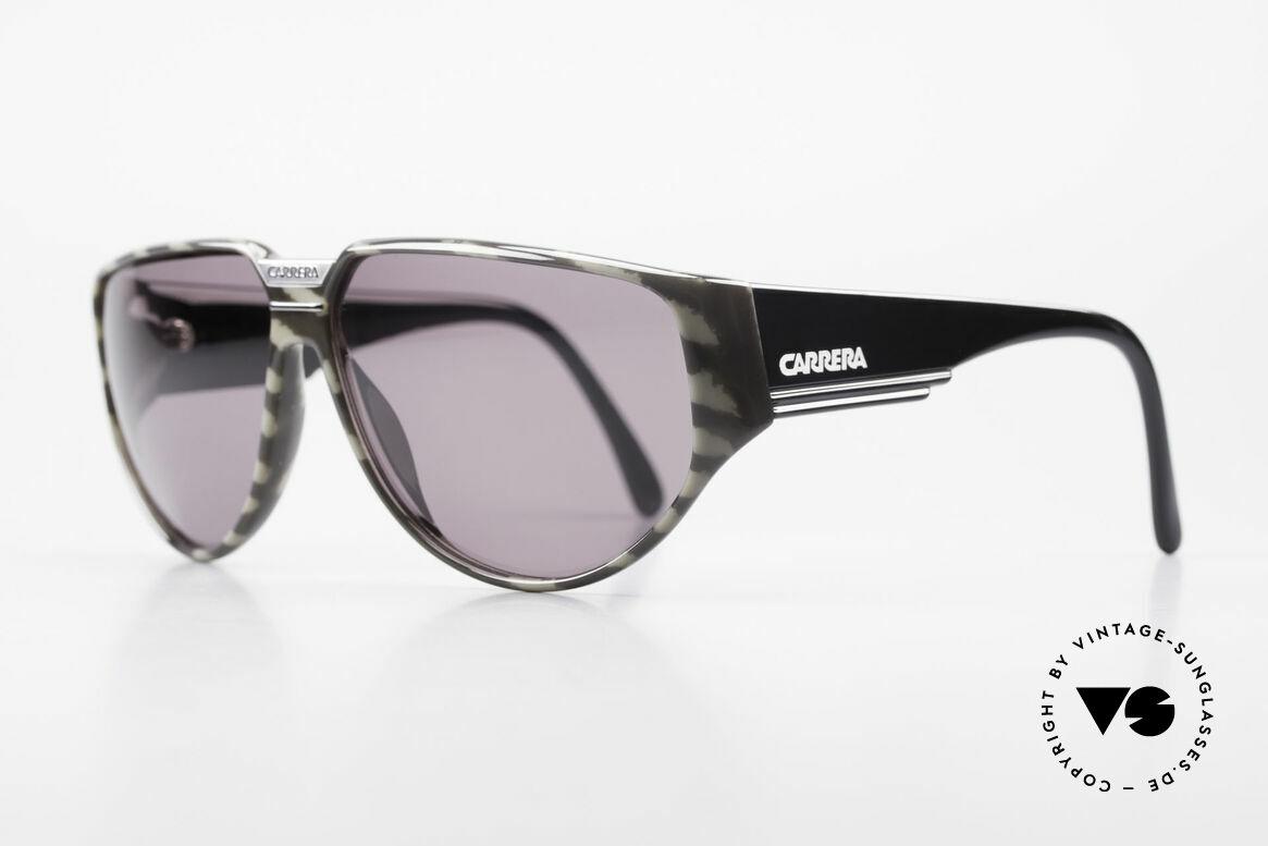 Carrera 5417 Camouflage Sportsonnenbrille, massiver Rahmen mit breiten Bügeln, + orig. Etui, Passend für Herren